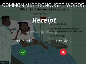 commonly mispronounced words, mispronunciations pdf 42