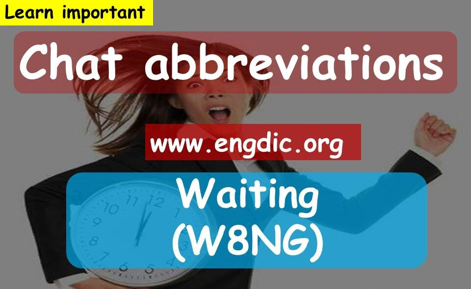abbreviation for texting