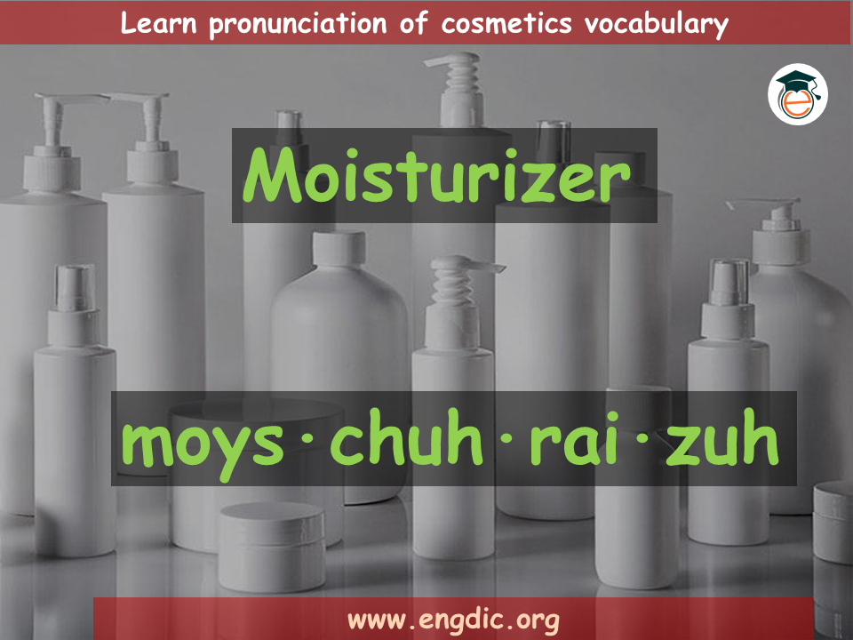 Makeup vocabulary with Images Pronunciation and Uses