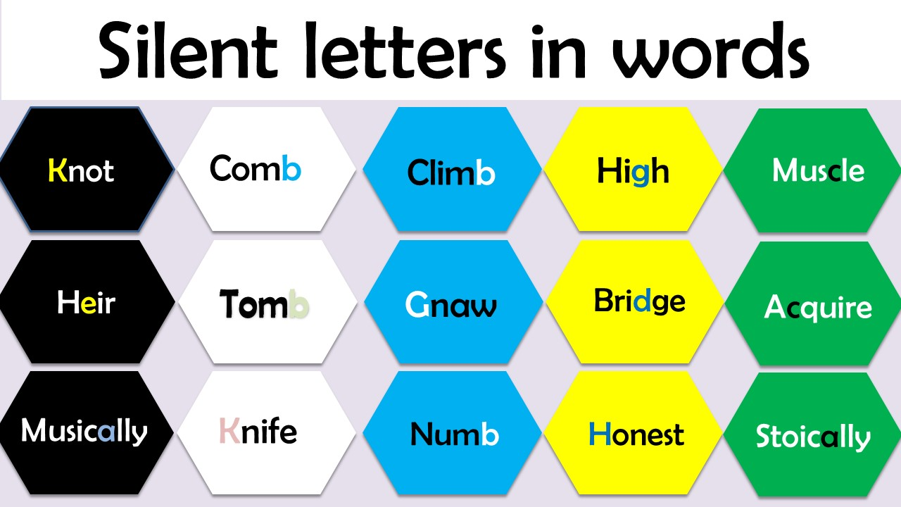 silent letters in words a-z pdf download