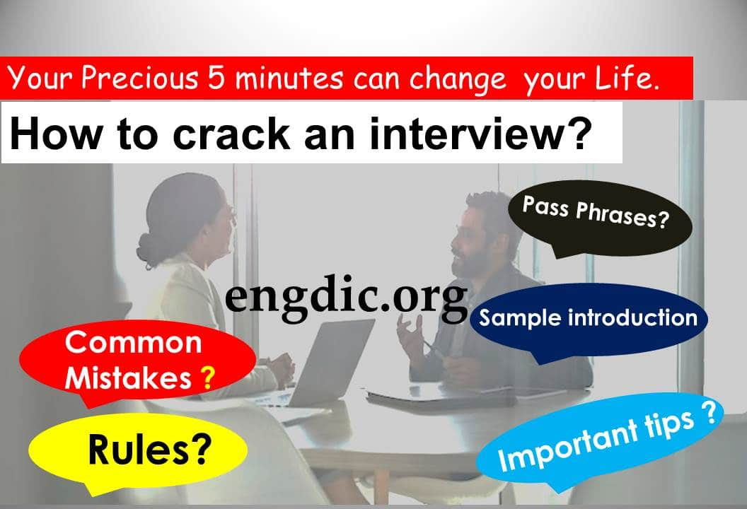 Job interview preparation Questions