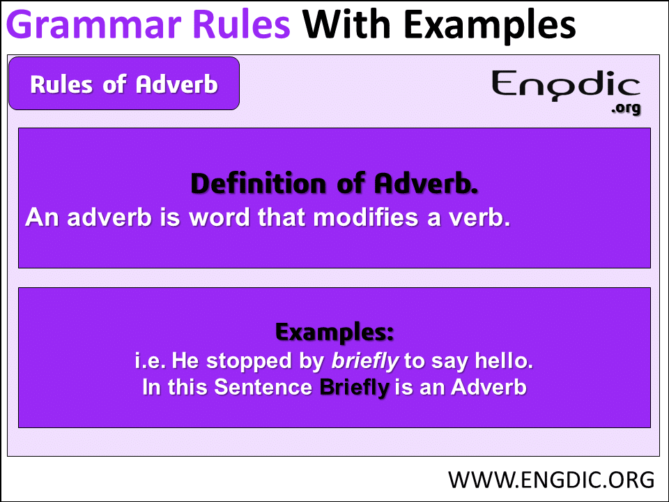 Correct use of adverb