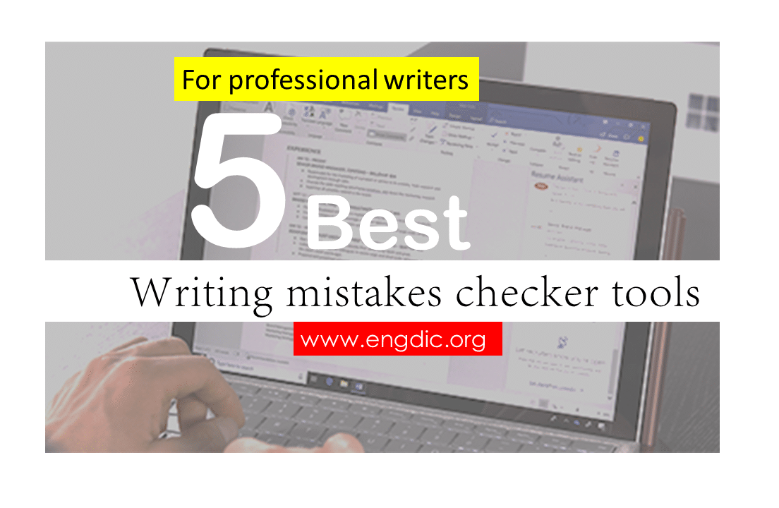 writing mistakes checker