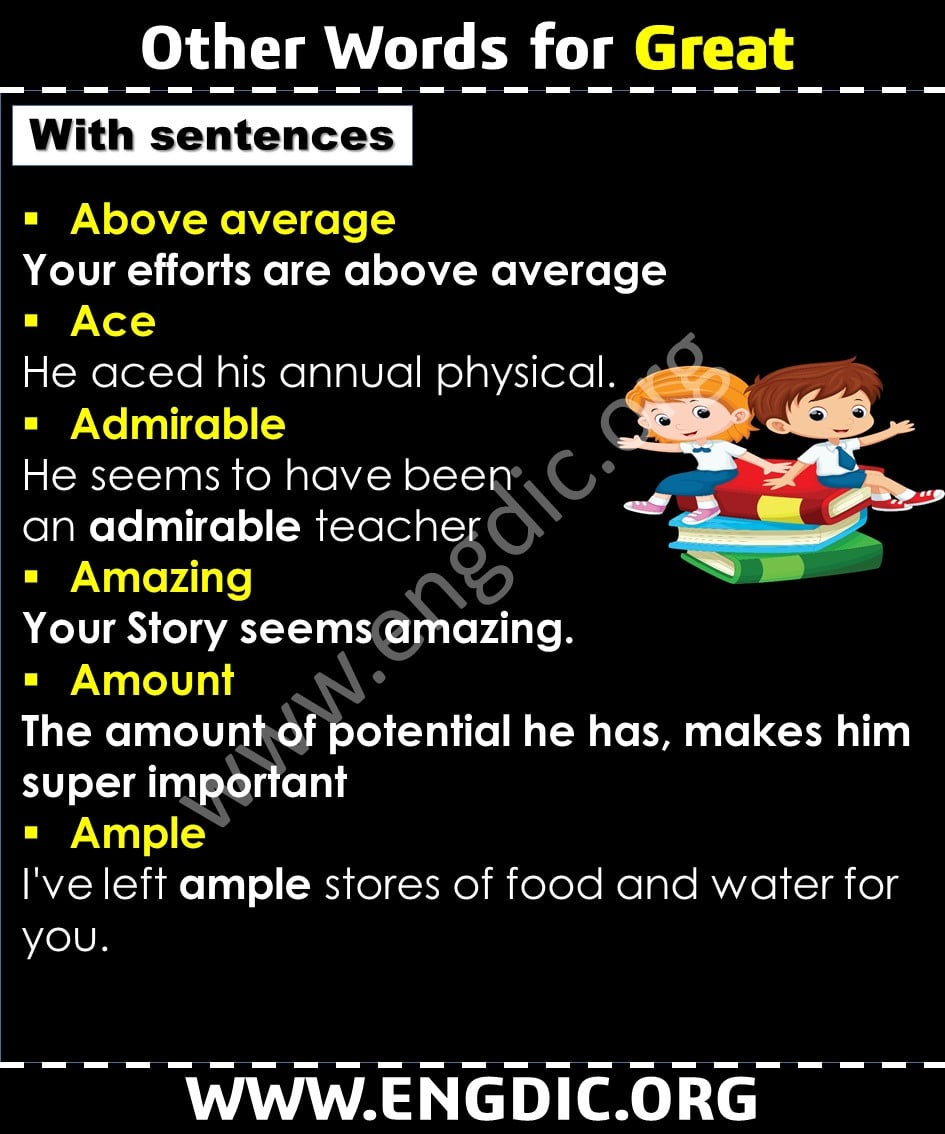 great synonyms