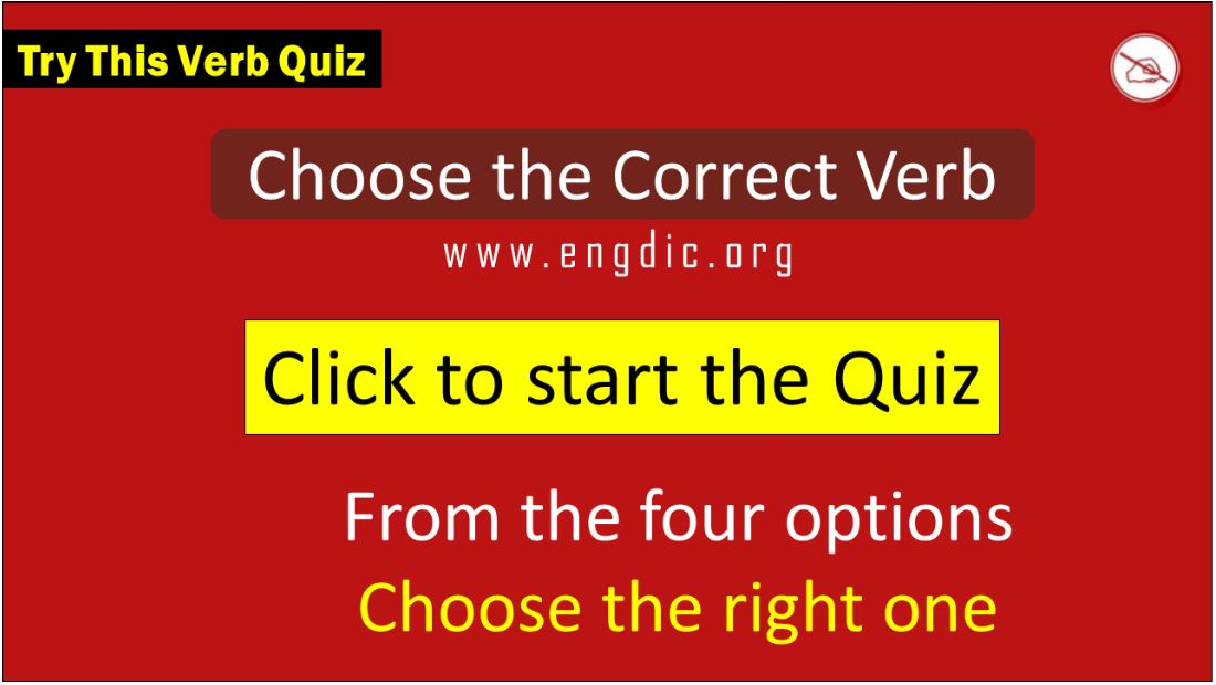 Choose the correct verb