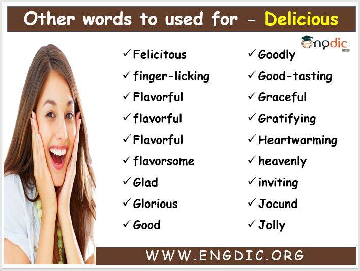 other words for delicious