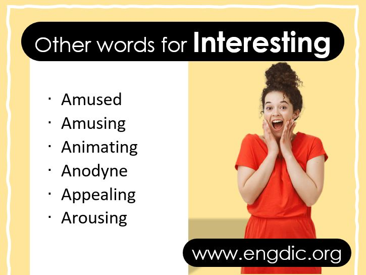 Other Words for Interesting