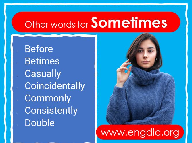 Other Words for Sometimes
