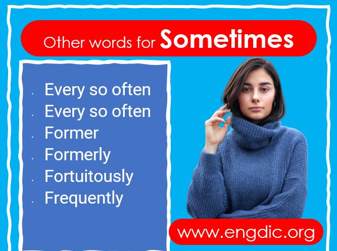 sometimes synonyms