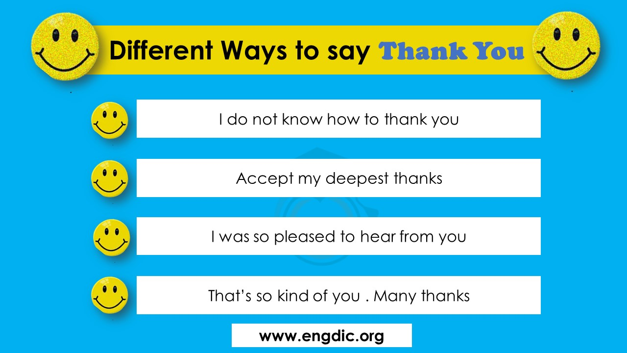 funny ways to say thank you