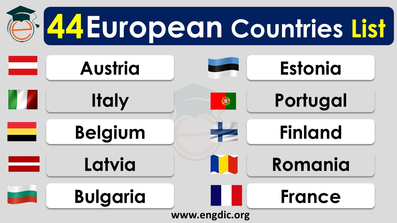 list of european countries