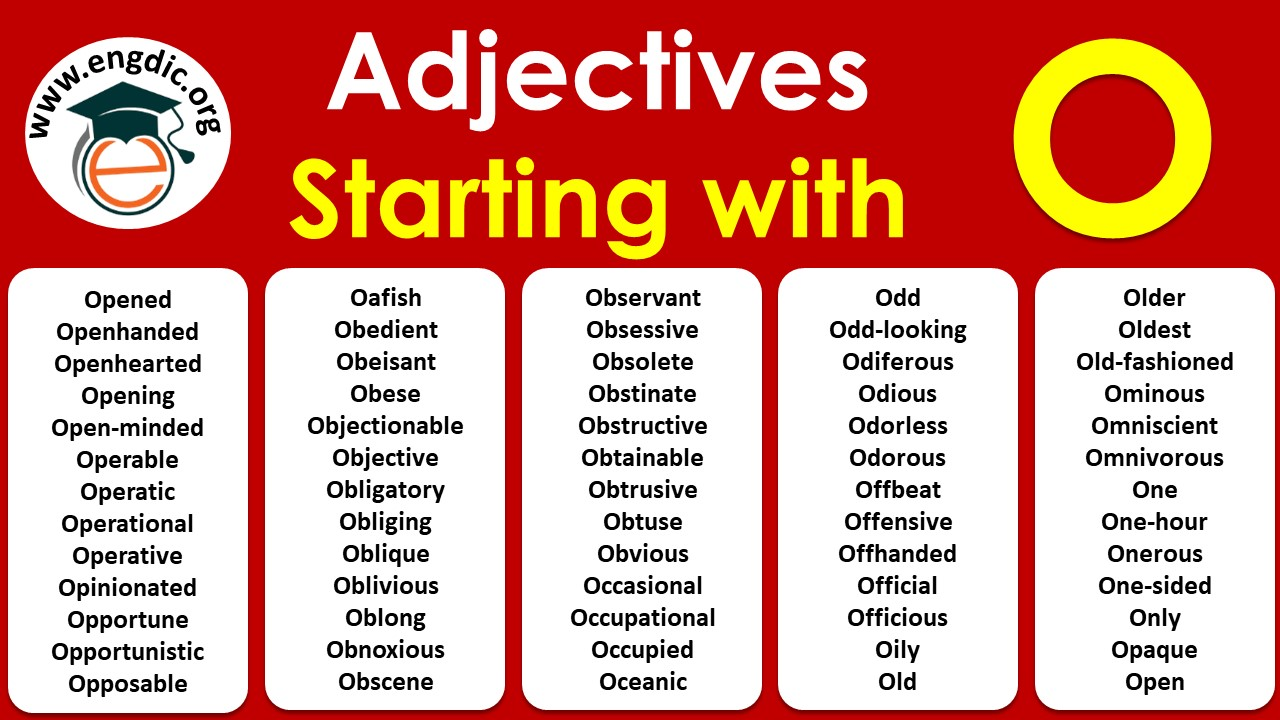 list of adjectives starting with o