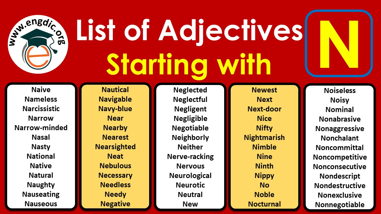 positive adjectives starting with n