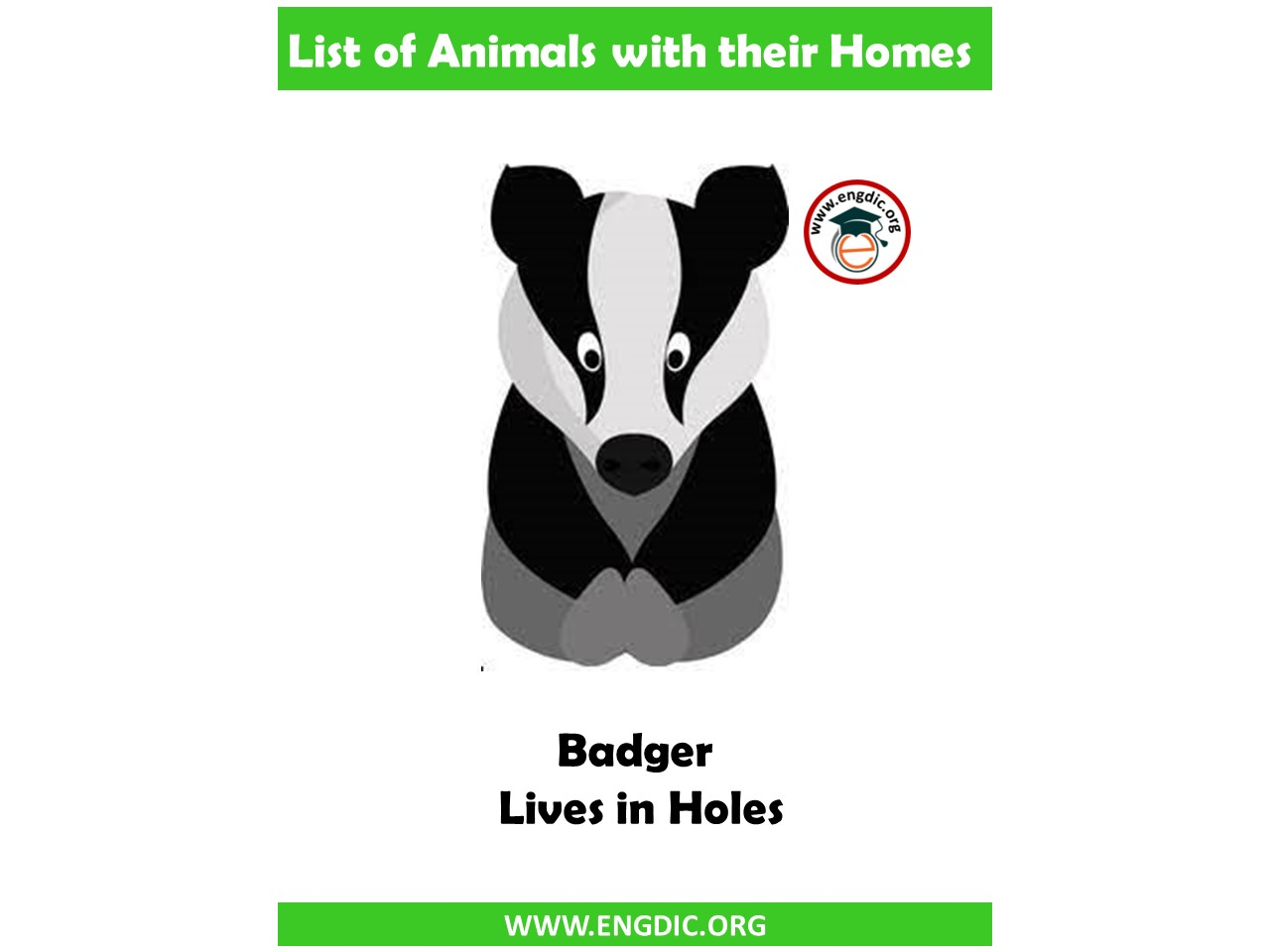 badger home name