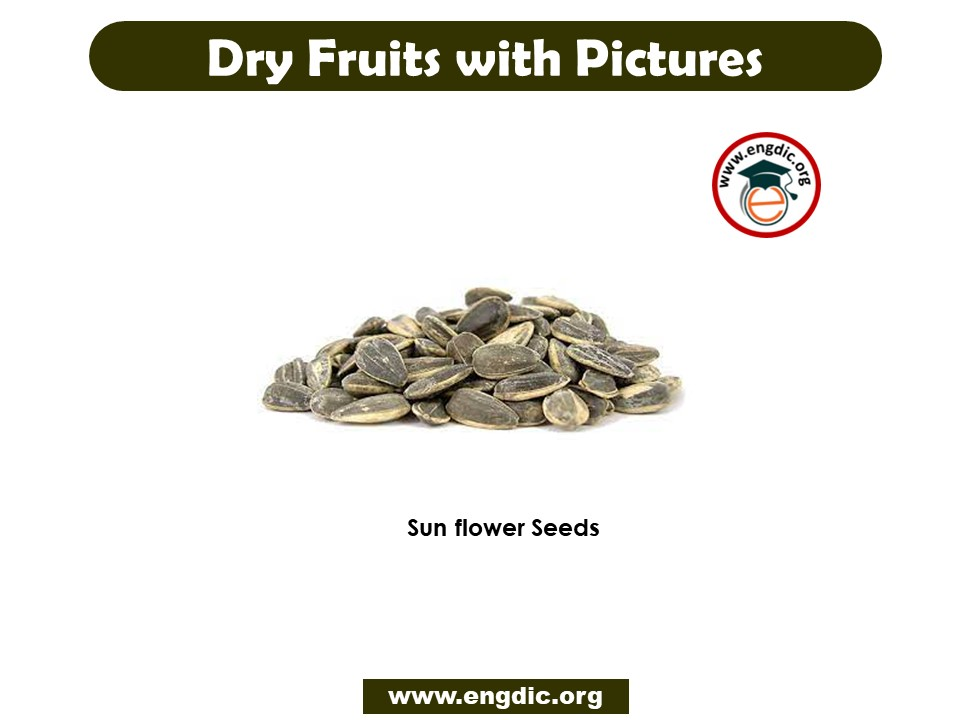 dry fruits with pictures