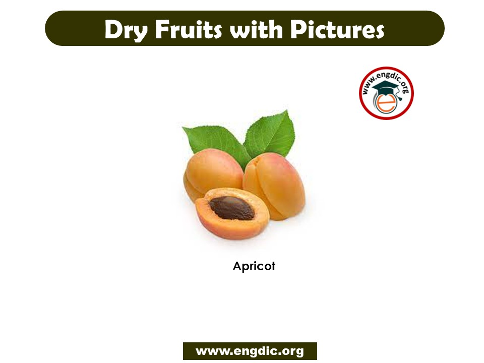 Dry Fruit names in English