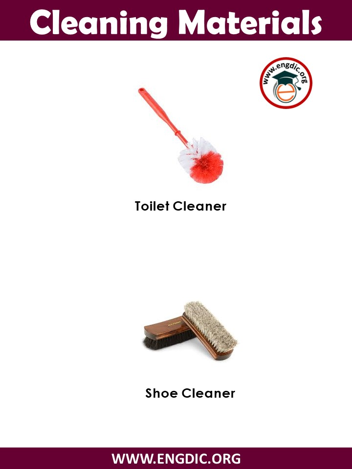 cleaning equipment list