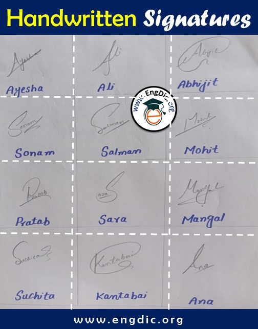 Signatures For my Name Signature styles (2)
