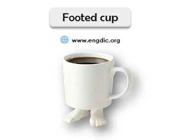 cups and mugs names list with pictures footed cup