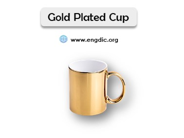 cups and mugs names list with pictures gold plated cups