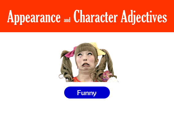 adjectives to describe character