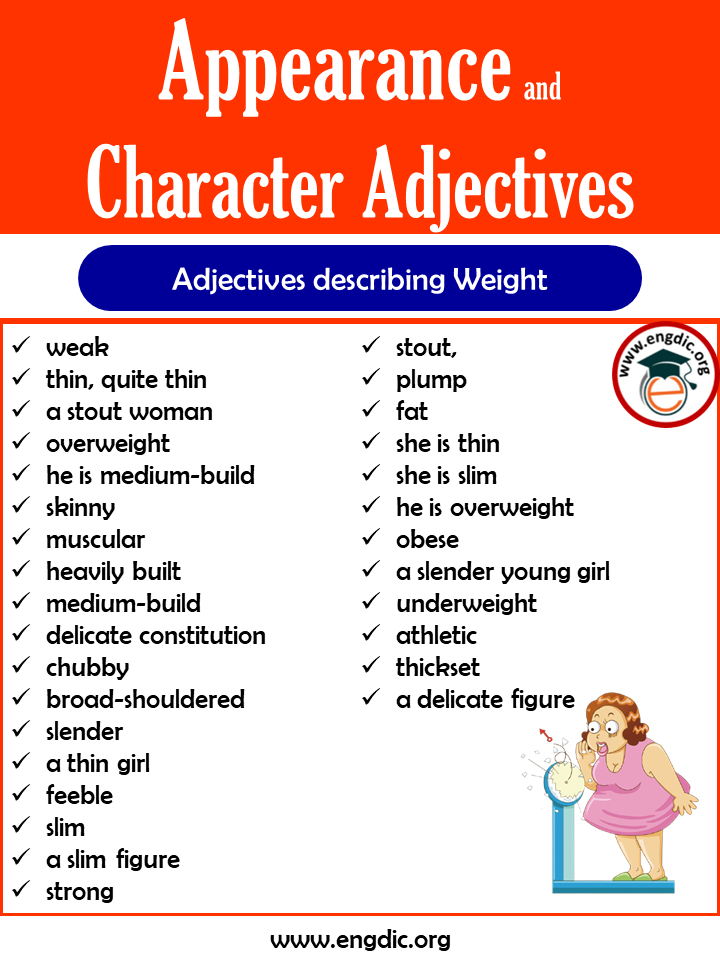 adjectives for personality