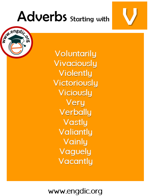 list of adverbs with V