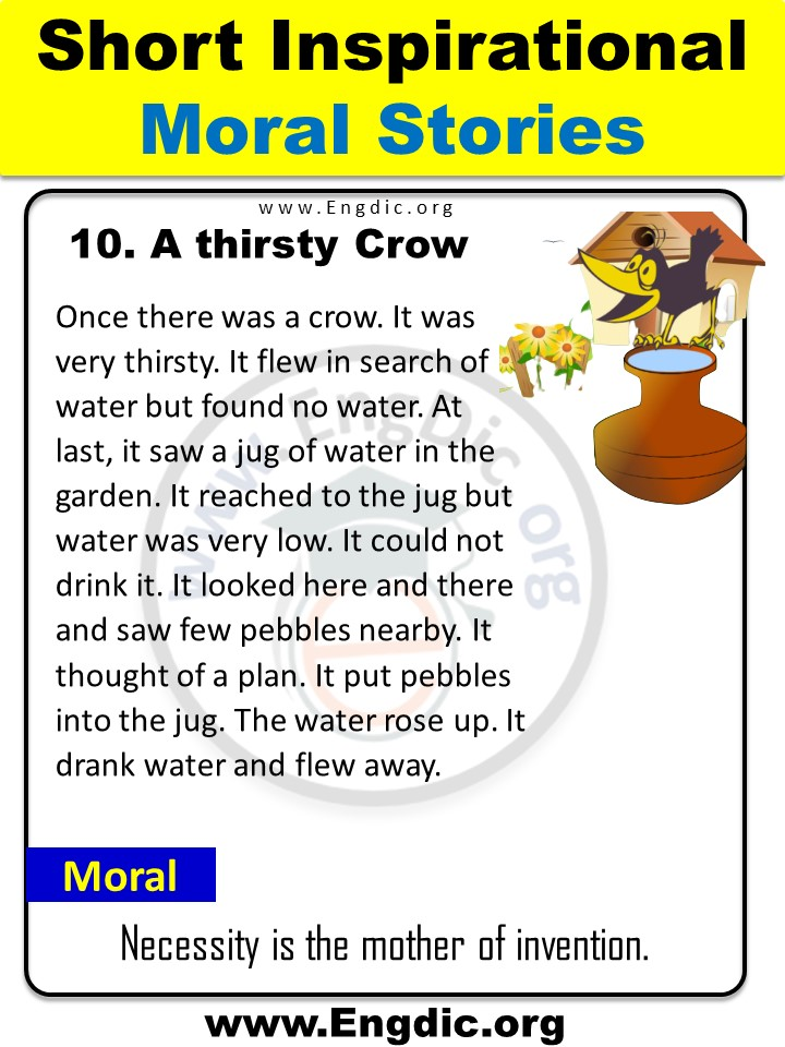 stories for kids in english