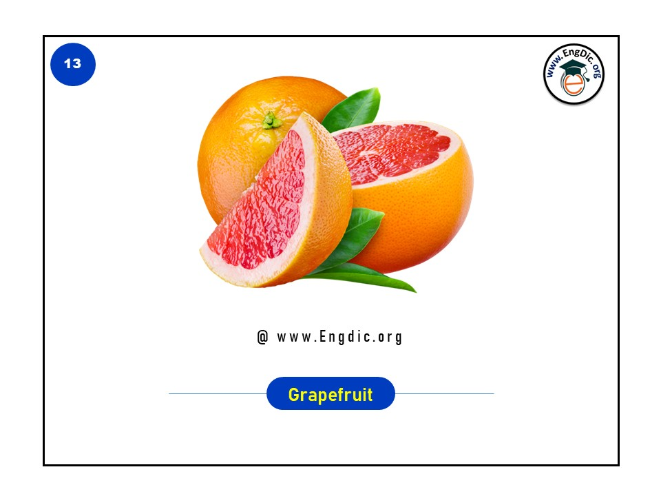names of tropical fruits in english