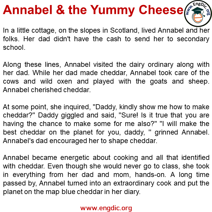 annabel and the yummy cheese