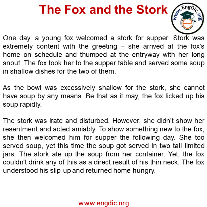 the fox and the stroke