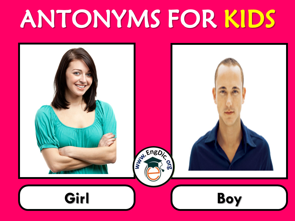 antonyms with pictures