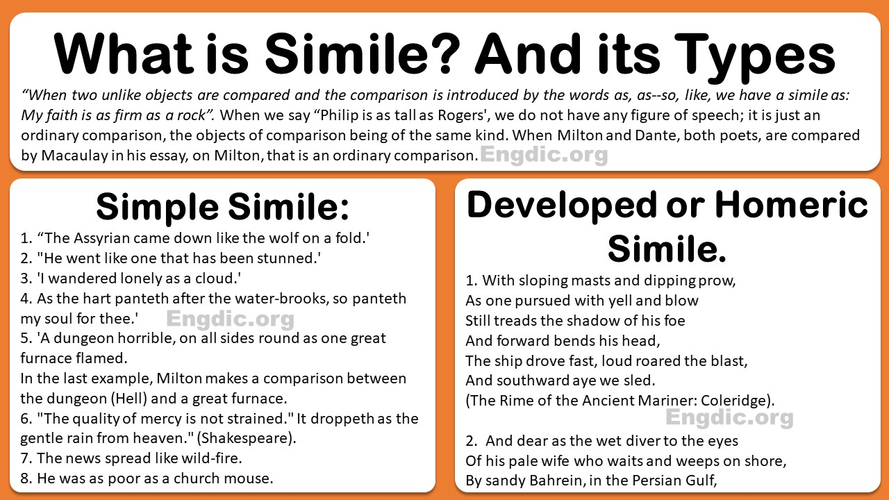 simile and its types with examples pdf